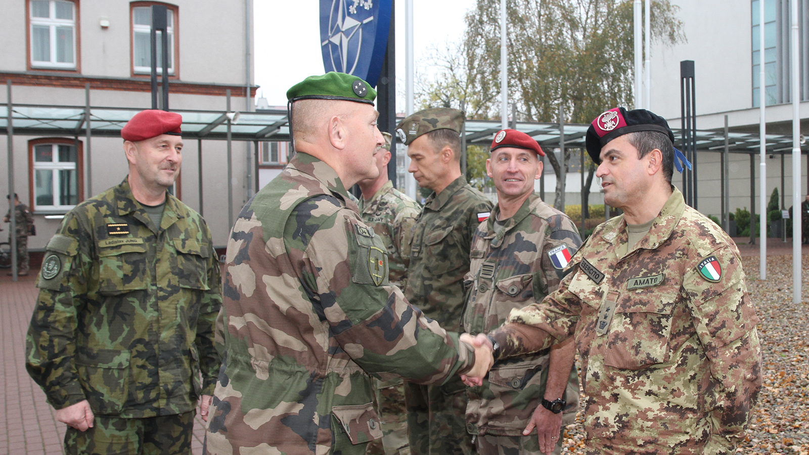 Joint Force Command Brunssum Chief of Staff Observes Last Phase of Resolute Support Training