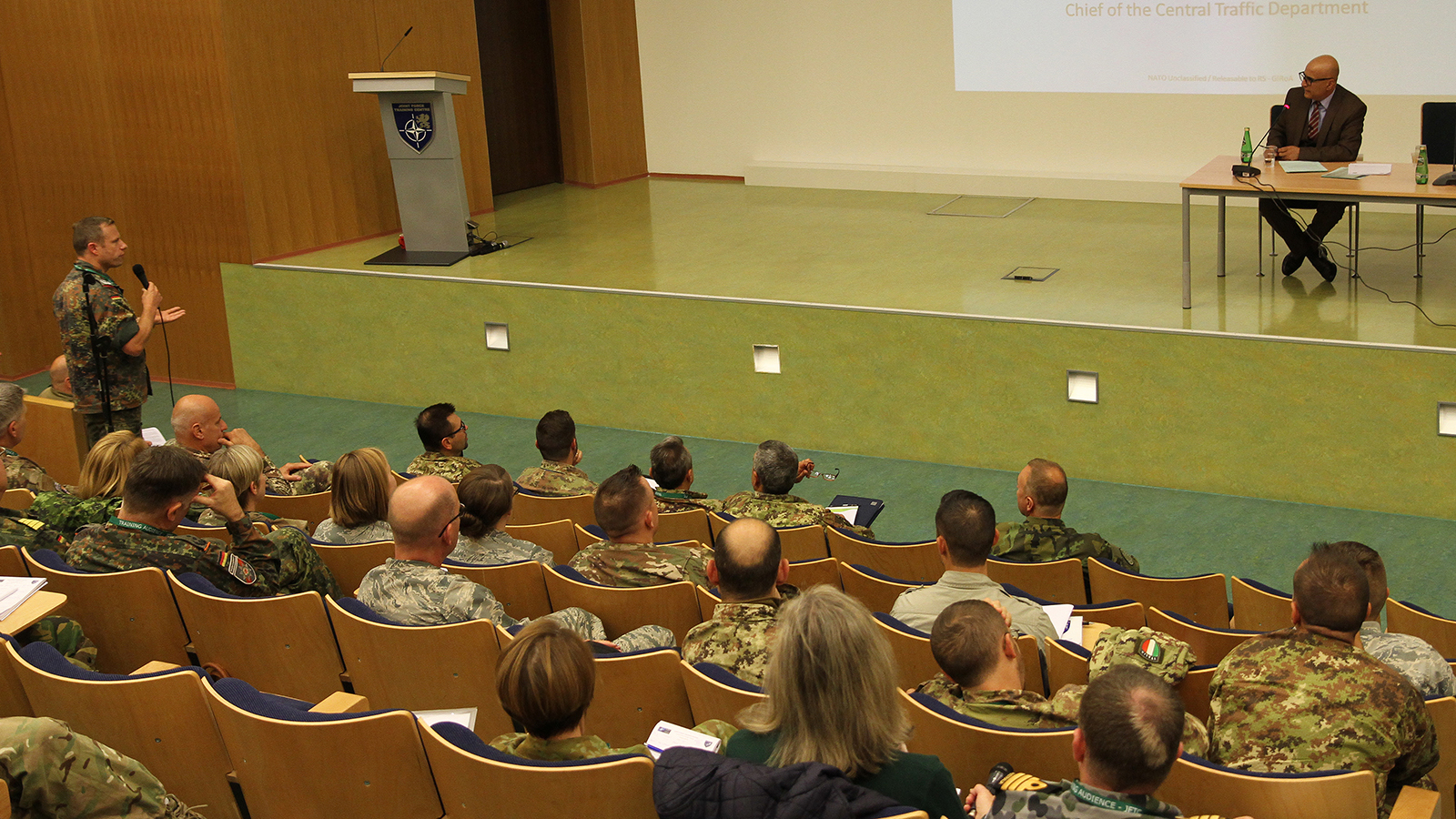 Train, Advise and Assist. JFTC opened the fourth 2018 Resolute Support training event