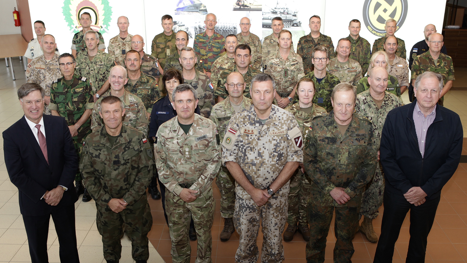 Exercises STEADFAST PYRAMID and STEADFAST PINNACLE 2019 – JFTC Conducts Exercises for Senior Officers and Commanders in Riga