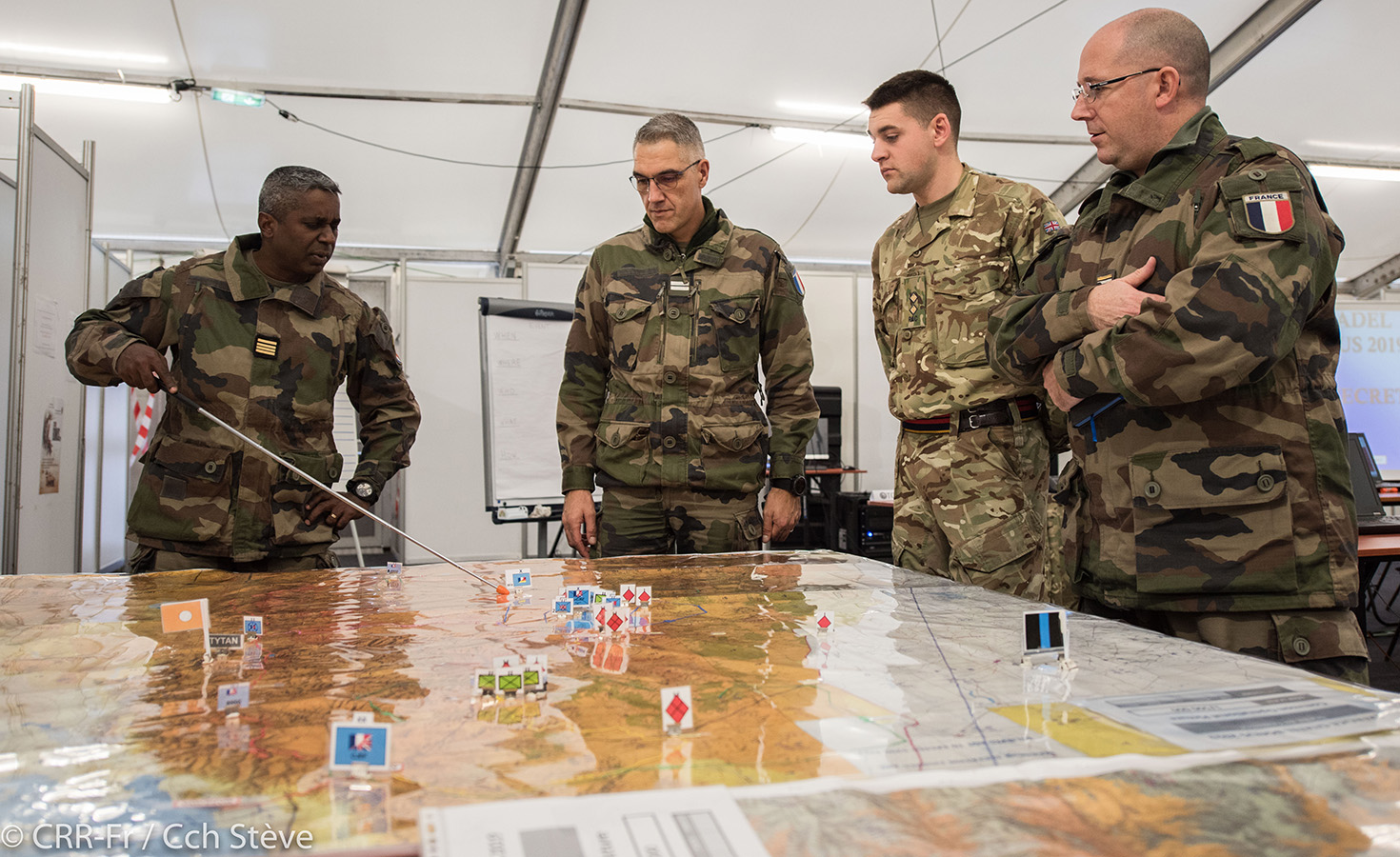 Rapid Reaction Corps-France's Exercise Citadel Bonus 2019 at JFTC