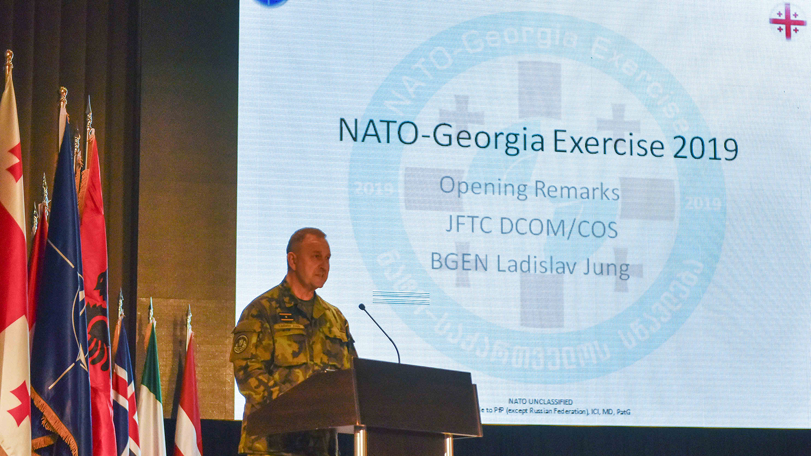NATO-Georgia Exercise 2019 Kicked Off in Krtsanisi