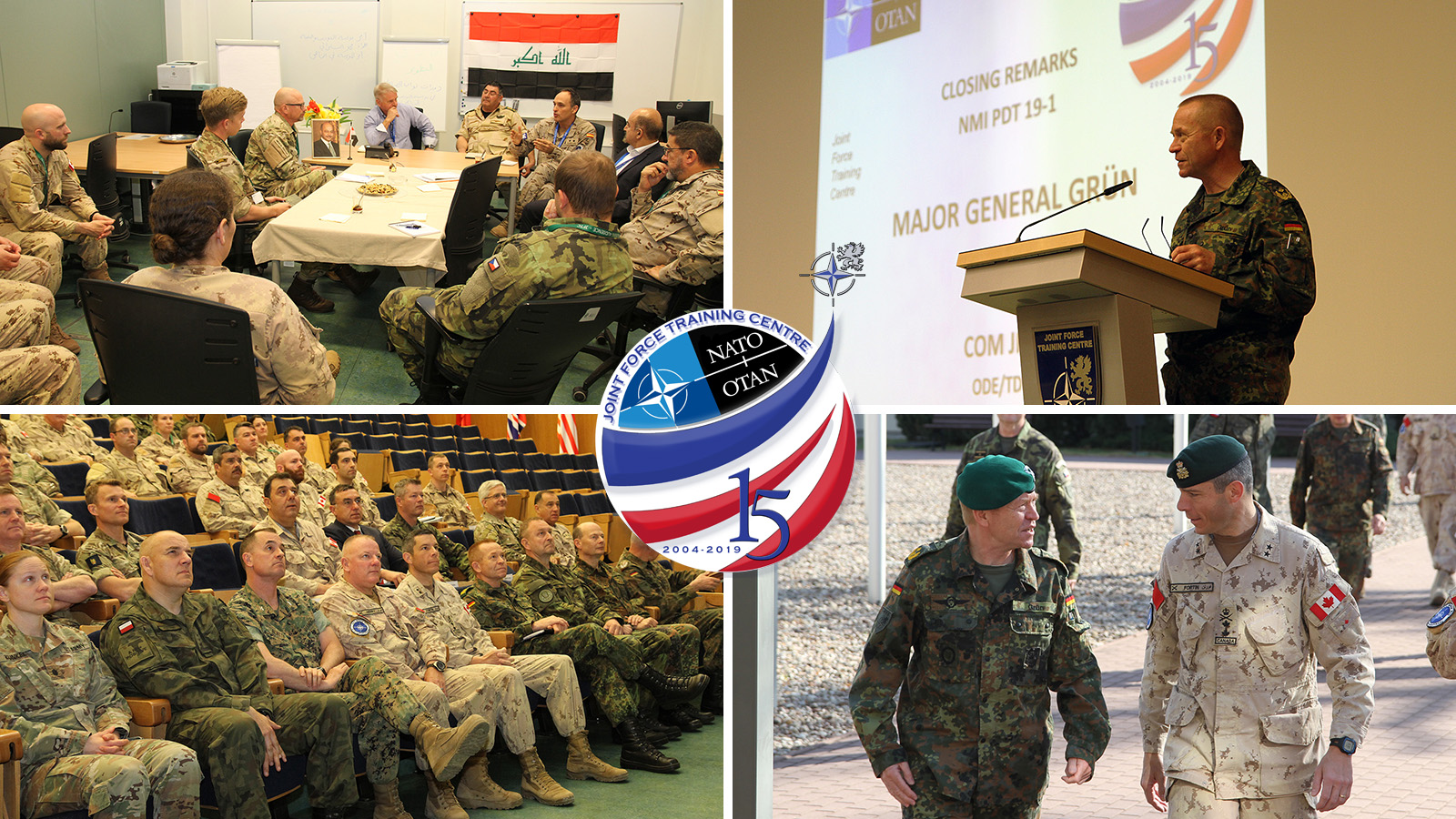 Pre-Deployment Training for NATO Mission Iraq. New task for JFTC