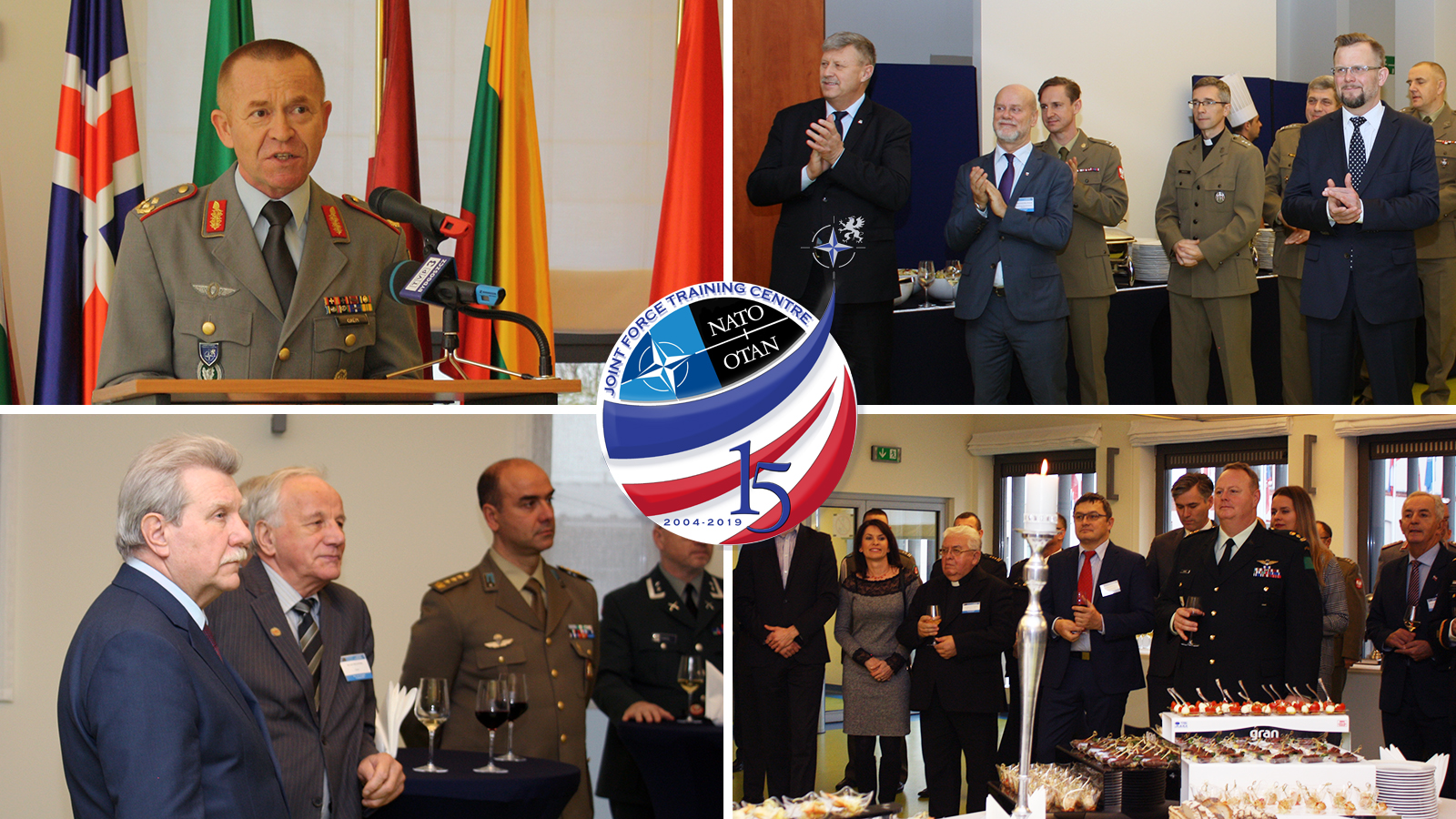 New Year's Reception opens another year of training at JFTC