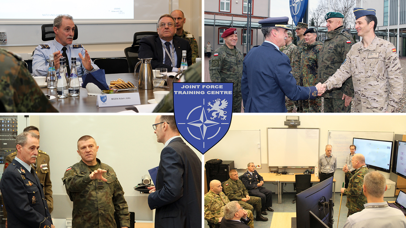 Allied Command Transformation's Deputy Chief of Staff Joint Force Development Explores JFTC